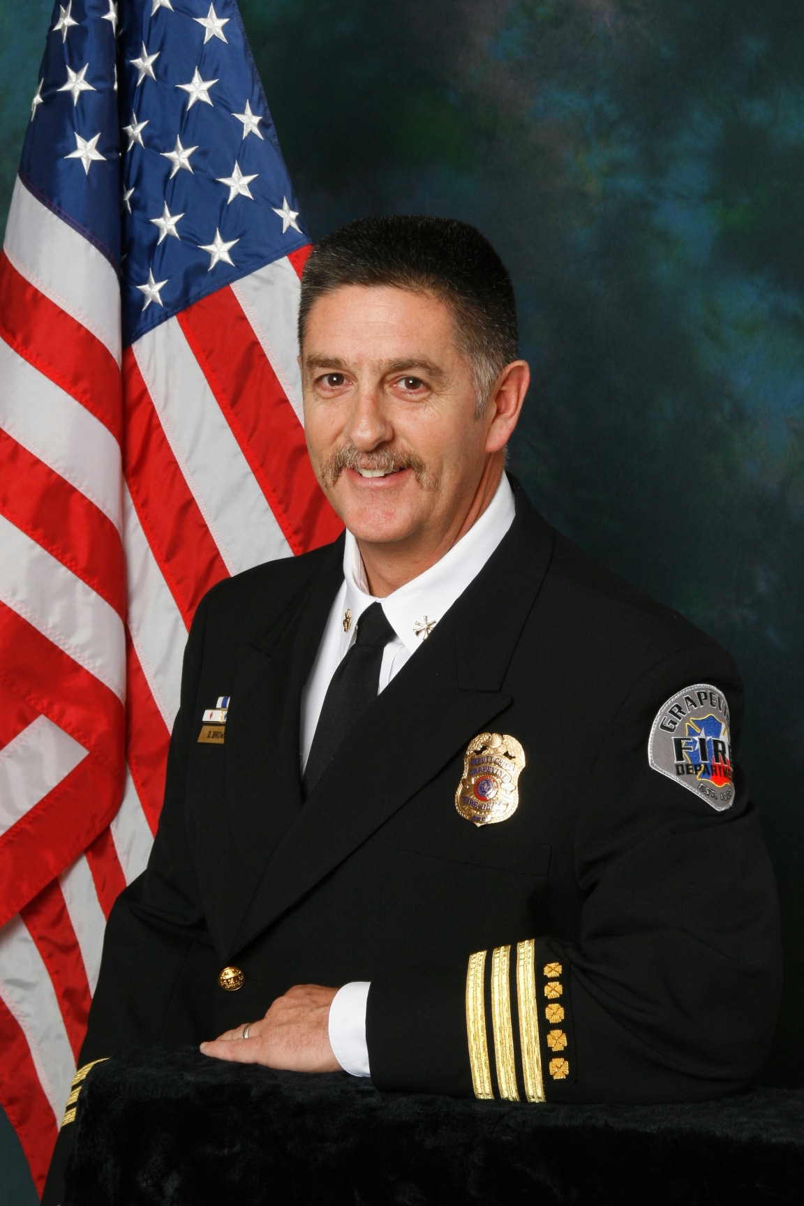 Photo of Deputy Chief Brown
