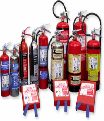 Photo of fire extinguishers