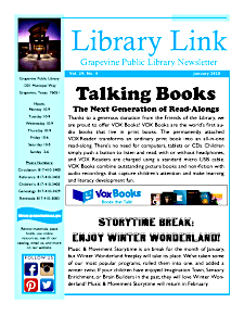 January 2020 Library Link