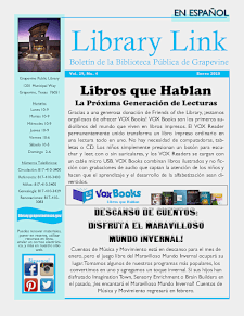 January 2020 Library Link - Spanish